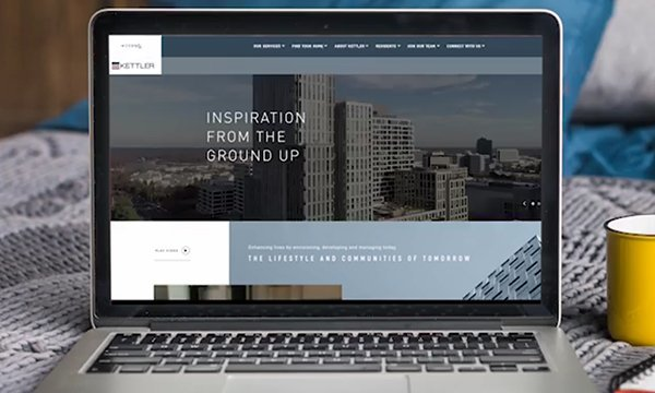 KETTLER Launches Bold Redesign of Company Website
