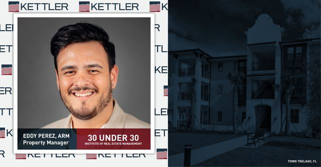 KETTLER Property Manager Honored on IREM 30 Under 30 List