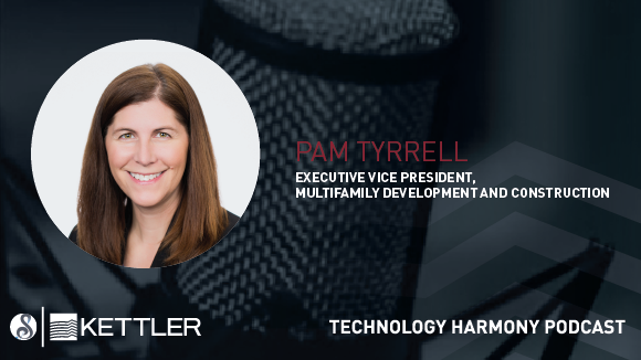 Symphony Technology Solutions Features EVP of Multifamily Development, Pamela Tyrrell for Technology Harmony Podcast Series
