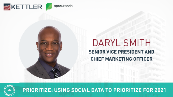 Sprout Social Features KETTLER CMO, Daryl Smith at 2020 Sprout Summit