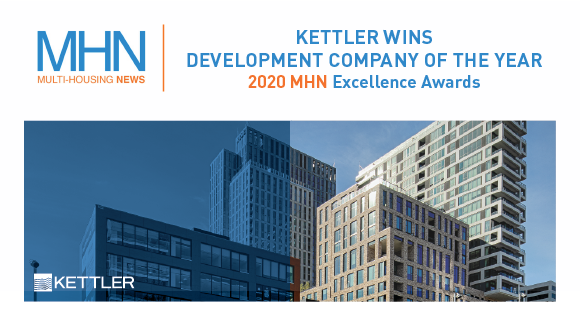 Multi-Housing News Names KETTLER 'Development Company of the Year' at the 2020 Excellence Awards