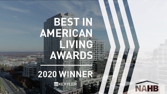 National Association of Home Builders Honors KETTLER with the 2020 Best in American Living Award for Rise & Bolden